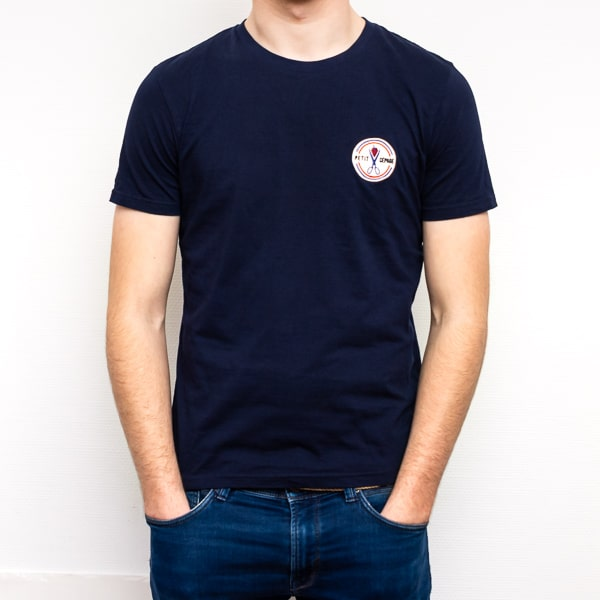 T-shirt Petit Cépage bleu marine